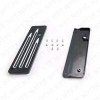 Machine Deep CNC Cut Saddlebag Latch Cover For 93-13 Harley Touring FLH FLT