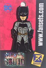 DC Comics Suicide Squad Batman Licensed FanSets Collectors Pin