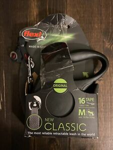 Open Box FLEXI CLASSIC RETRACTABLE LEASH FOR MEDIUM SIZE DOGS. UP TO 16'