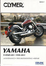1998 - 2011 Yamaha V-Star 650 Clymer Service Repair Shop Workshop Manual M4957