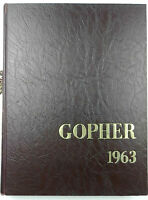 University of MN Gopher College Yearbook 1963 Unsigned Eller Nanne Bobby Bell