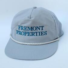 FREMONT PROPERTIES Mountain View, California SIZE-A-JUST Adjustable Baseball Cap