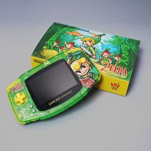 DIY Game Boy Advanced GBA IPS V2 backlight brightness adjustment Zelda style