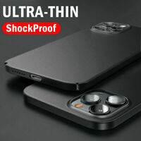 Phone Case For iPhone 11 12 Pro Max XS XR 8 7 X ShockProof Ultra-thin Hard Cover