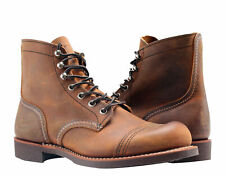 RED WING IRON RANGER COPPER 6-INCH BOOT US MENS SIZES 08085