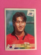 FRANCE 98 PANINI World Cup Panini 1998 - Sang Chul Yoo South Korea N.343