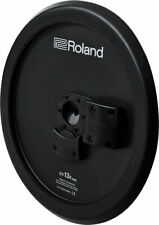 New Roland CY-13R Three Zone Electronic Ride Crash Cymbal - Black Underside