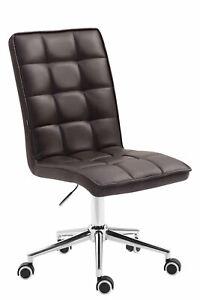 #LA97977/0809 Arbeitshocker Peking V2 Kunstleder braun Bürostuhl Drehstuhl Stuhl
