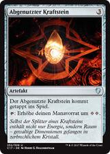2x Abgenutzter Kraftstein (Worn Powerstone) Commander 2017 Magic