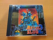 METAL SLUG 2 NEO GEO CD SNK NEOGEO !TOP CONDITION!