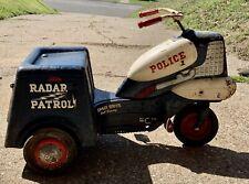 Murray Police Radar Patrol Tricycle Pedal car