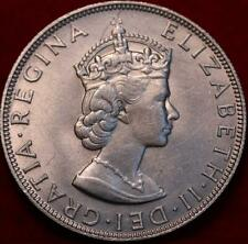 1964 Bermuda 1 Crown Silver Foreign Coin