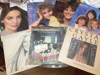 Women's Country (70's-80's) LP Lot: Crystal Gayle (2xLP)/ Lacy Dalton..EX to NM