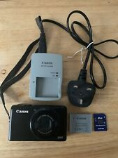 Canon PowerShot S90 Digital Camera AR 46 Made In Japan Good Working Condition