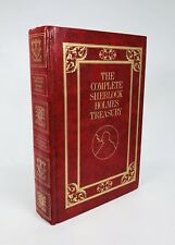 The Complete Sherlock Holmes Treasury Book by Sir Arthur Conan Doyle
