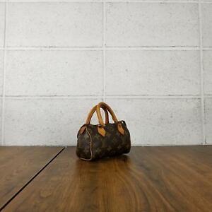 100% Authentic Louis Vuitton Monogram Mini Speedy M41534 handbag used 5-