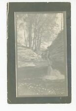 """Took this with my Camera"" Amsterdam NY RPPC Antique Photo ca. 1911"