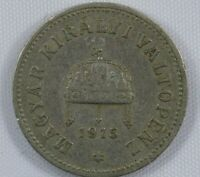 Moneda Hungria 10 Filler 1915 Niquel | World Coins