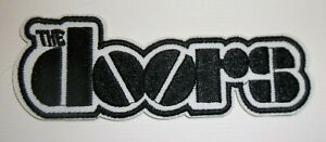 """The Doors~Jim Morrison~Rock & Roll~Embroidered PATCH~3"""" x 1 1/16""""~Iron or Sew"""