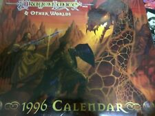 TSR DRAGONLANCE & OTHER WORLDS 1996 CALENDAR