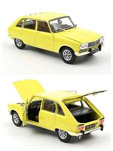 1/18 Norev Renault 16 TX 1975 Yellow Neuf En Boite Edit Limitée 200 Exemplaires
