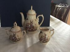 Bunny Rabbit Tea Pot, Creamer, and Sugar Dish