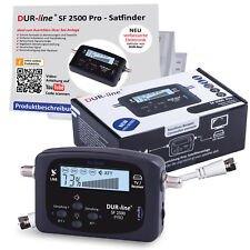 Satfinder SF 2500 PRO HD Digital SAT Finder Messgerät mit ton F-Kabel