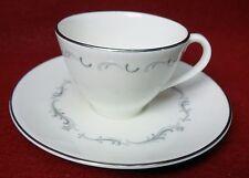 ROYAL DOULTON china CORONET H4947 pattern Demitasse Cup & Saucer Set