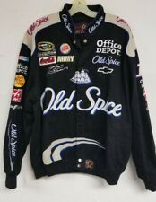 JEFF HAMILTON NASCAR TONY STEWART RACING JACKET OLD SPICE MENS LARGE