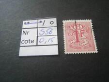 timbre service ancien  vendu à 20% COB S56  oblitéré