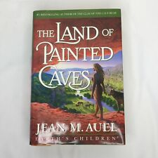 The Land of Painted Caves Jean M Auel Earths Children Series Fiction First Ed