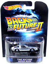 CFR15 BACK TO THE FUTURE PART II 2 TIME MACHINE DeLOREAN FLY 1/64 HOVER MODE