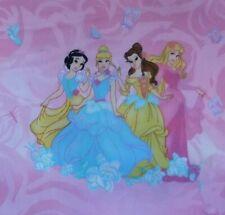 Disney princesses Fabric by fat quarter ,  half yard , yard continuous piece