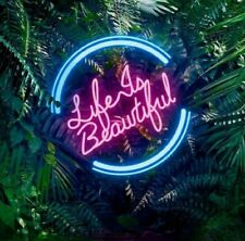 """LIFE IS BEAUTIFUL"" Neon Sign/Light/Lamp Custom Made"