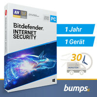 Bitdefender Internet Security 2020 - 1 PC (Windows) | 1 Jahr / 365 Tage
