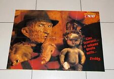 Poster FREDDY KRUEGER Nightmare - TOM CRUISE Il Monello Okay 60x44 cm