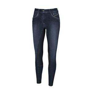 %% Pikeur Reithose Damen Darjeen Jeans Grip Full %%
