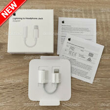 Genuine Apple Lightning to 3.5mm Headphone Jack Adapter iPhone 11 Pro XS XR 8 7