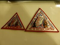 BSA Boy Scout WWW OA Order of The Arrow NC- 1A Rocky Ford Conclave 1987 Patch