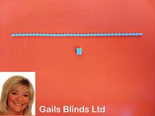2 METRE ROLLER / ROMAN BLIND WHITE PLASTIC CHAIN  - BLIND SPARE PARTS