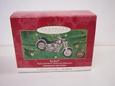 Harley Davidson Hallmark Keepsake Collector Series Fat Boy 2nd in Series