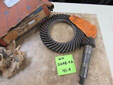 NORS 1939-47 Hudson and 1939-40 Hudson 3/4 Ton Ring and Pinion Set #WX2248A-9A