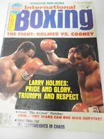 International Boxing Magazine The Fight Holmes vs Cooney October 1982