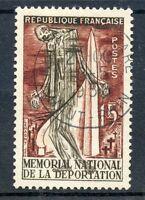 TIMBRE FRANCE OBLITERE N° 1050 MEMORIAL NATIONAL DE LA DEPORTATION A STRUTHOF