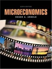 Microeconomics by Roger A. Arnold (2003, Paperback)
