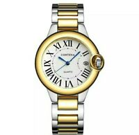 Womens Ladies Contena Ballon Bleu Quartz Watch. Homage two tone Gold CLASSY Chic