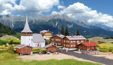 HO Scale Buildings - 38010 - H0 Set Sertig village - Kit