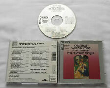 CHRISTMAS CAROLS & HYMNS of 15th Century/PRO CANTIONE ANTIQUA CD DHM (1991)Mint