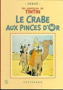 Tintin (Les aventures de) - Le crabe aux pinces d'or [fac-similé noir et blanc]