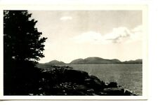 Scenic Landscape Water View-Hancock Point-Maine-RPPC-Vintage Real Photo Postcard